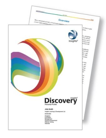 Insights Discovery Personal Reporting sample report